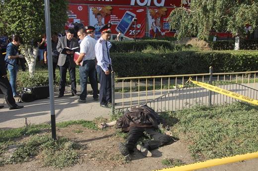 Убийство в центре Уральска