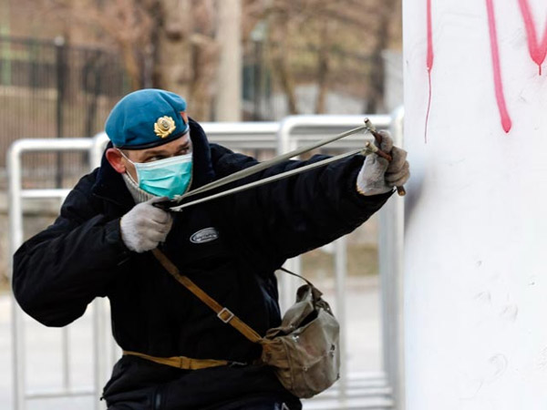 Майдан, беспорядки