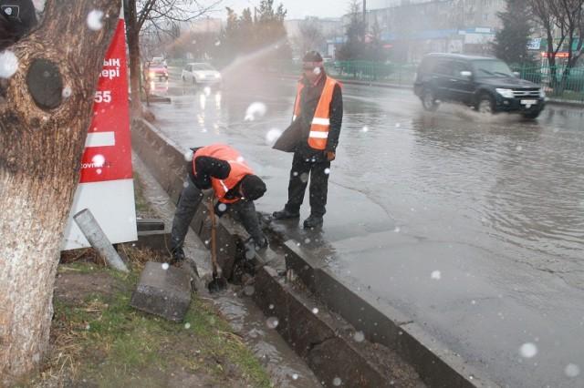 Шымкент оказался не готов к наводнению